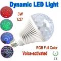 LEDLAMP3-3W-RGB E27 R
