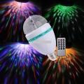 LED RGB 6W E27 (puldiga, häältundlik)