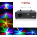 1,5W RGB laser (DMX-ILDA-hääljuhtimine jne) kujundid jne.