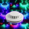 Päevalill 48 RGB LED 8W (väga effektne) valge häältundlik
