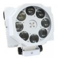 LED RGBW Cobo effektprozektor