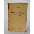Esperanto-Eesti sõnastik