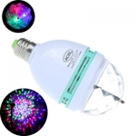 RGB LED valgusti, pöörlev, tava