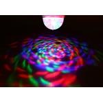 Pöörlev RGB LED valgusti