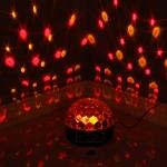 6 värviline LED HEXA kera automaatjuhtimisega
