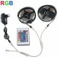 10m pritsmekindel LED RGB 3528 riba puldiga ja toiteplokiga