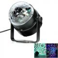 LED RGB effektvalgusti 3W liikuva valgusega